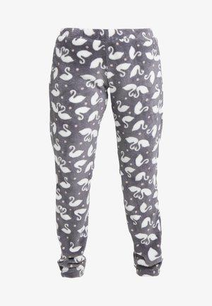 PANT SWAN - Spodnie od piżamy - silver grey