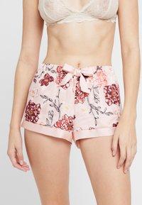 Hunkemöller - KIKU - Spodnie od piżamy - rose smoke - 0