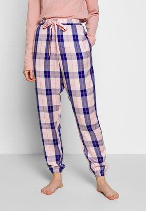 PANT CHECK - Pyjamabroek - cloud pink