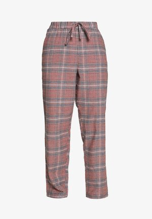 PANT CHECK - Pyjamasbukse - warm grey melee