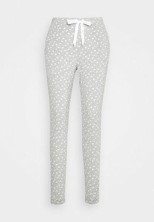 PANT EYES - Pyjamasbukse - warm grey melee