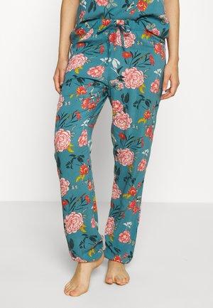 PANT SAGE FLOWER - Pyjamasbukse - stormy sea