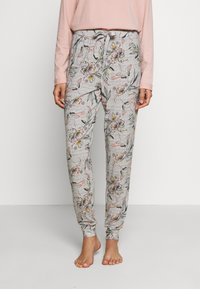 Hunkemöller - PANT BIRDS - Pyjamasbukse - light grey - 0