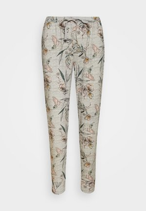 PANT BIRDS - Pyjamasbukse - light grey