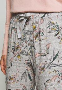 Hunkemöller - PANT BIRDS - Pyjamasbukse - light grey - 4