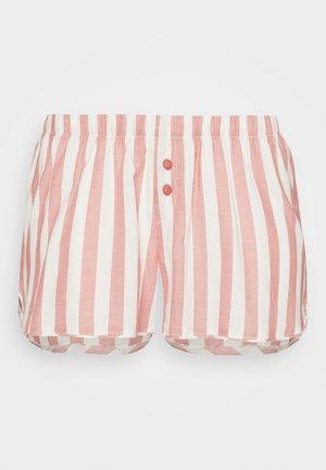 STRIPE - Pantalón de pijama - dusty cedar
