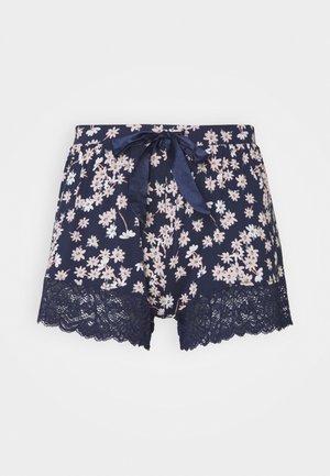 SHORT DAISY - Pyjamasbukse - peacot