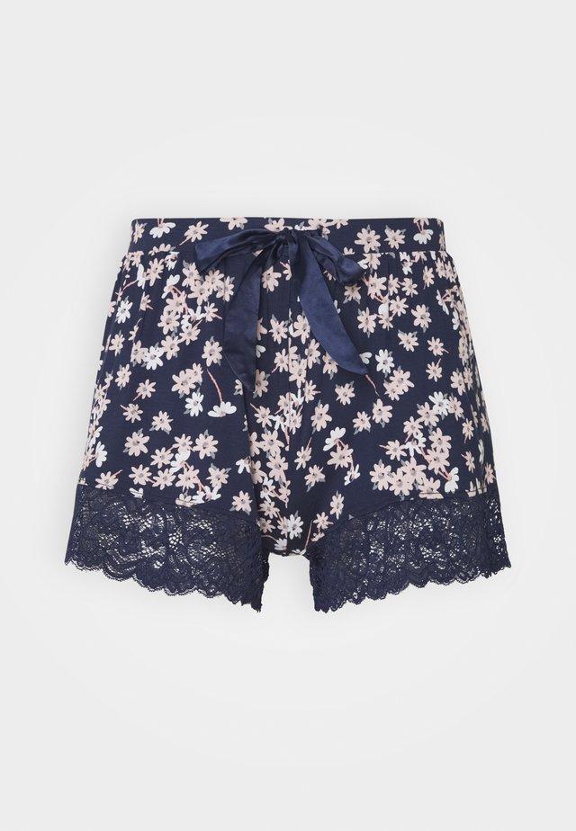 SHORT DAISY - Pyjama bottoms - peacot