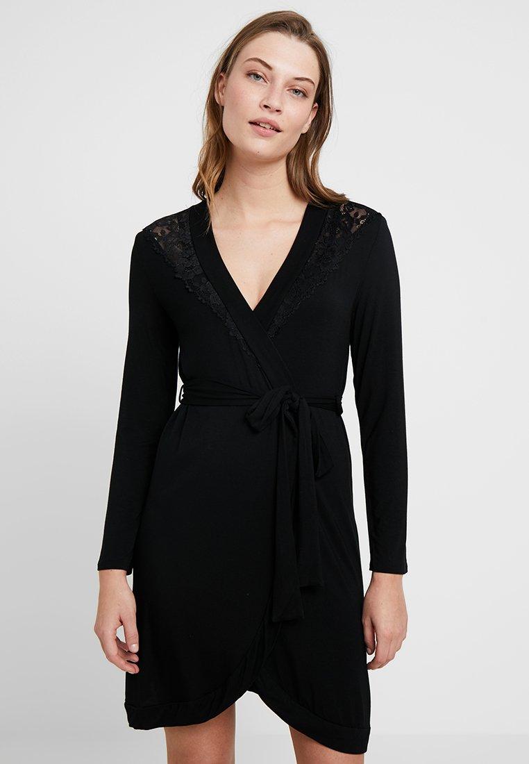 Hunkemöller - ROBE - Dressing gown - black