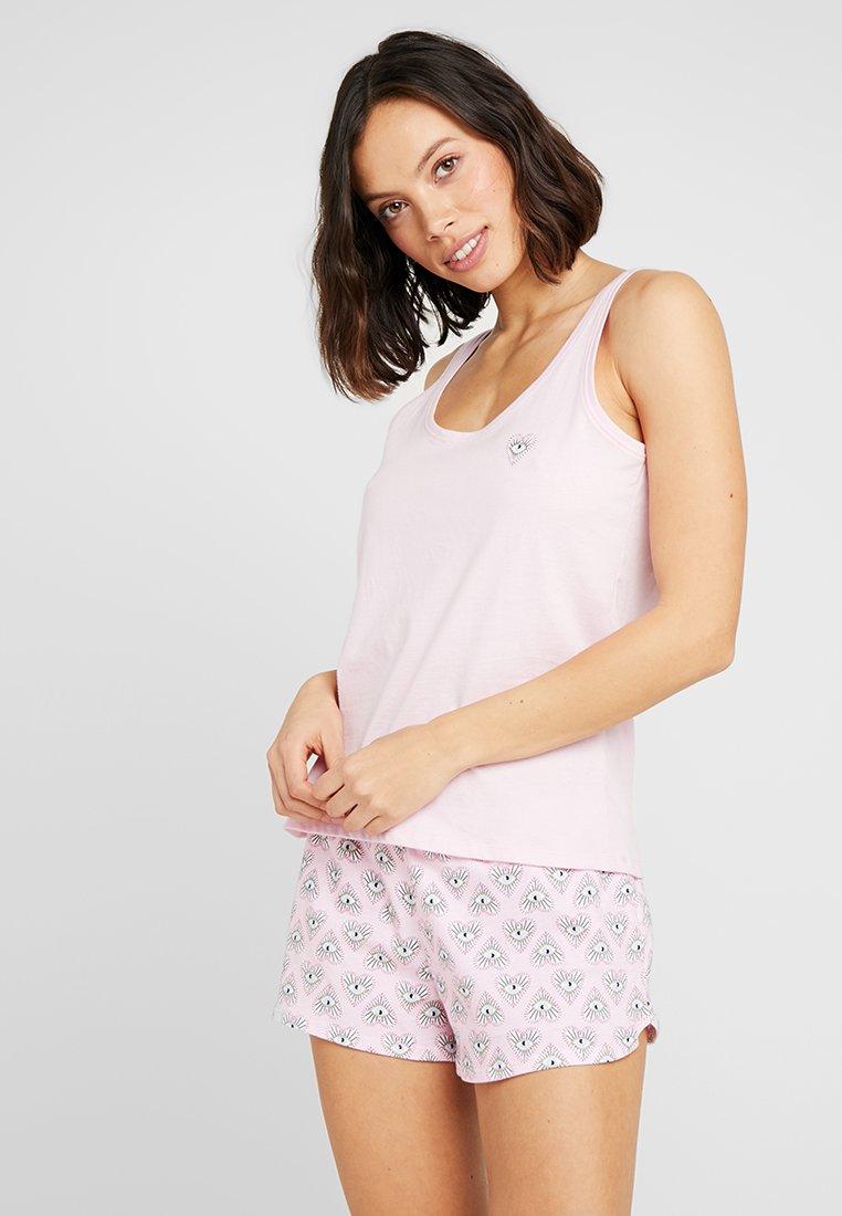 Hunkemöller - SHORT EYE SET  - Pyjama - pink lady