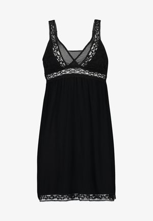 GRAPHIC LACE  - Nightie - black