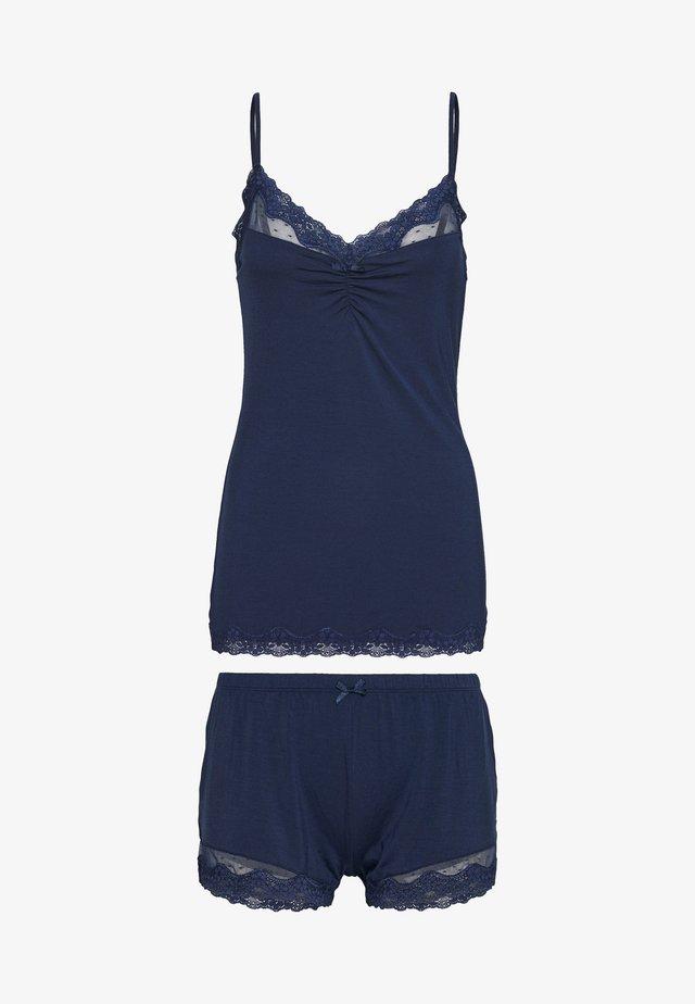 SHORT SET - Pyjamas - insignia blue
