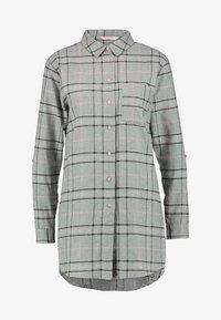 Hunkemöller - CHECK - Noční košile - silver grey - 4