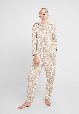 ONESIE REINDEER - Pijama - tan