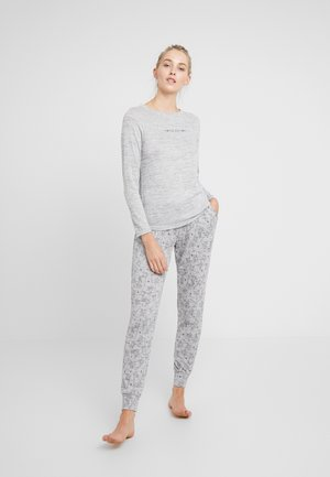 DEER SET - Pyjama - soft grey melee