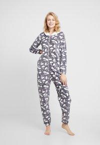 Hunkemöller - ONESIE SWAN - Pijama - silver grey - 0