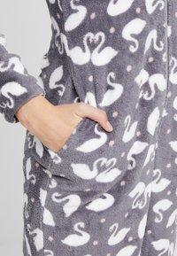 Hunkemöller - ONESIE SWAN - Pijama - silver grey - 5