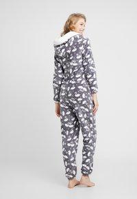 Hunkemöller - ONESIE SWAN - Pijama - silver grey - 2
