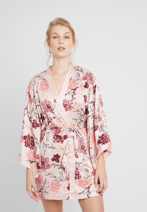 KIMONO KIKU - Dressing gown - rose smoke