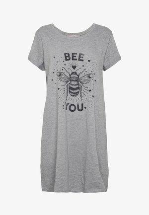NIGHTIE BEE - Nattskjorte - mid grey