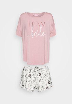 SHORT TEAM BRIDE SET  - Pyjama - bridal rose