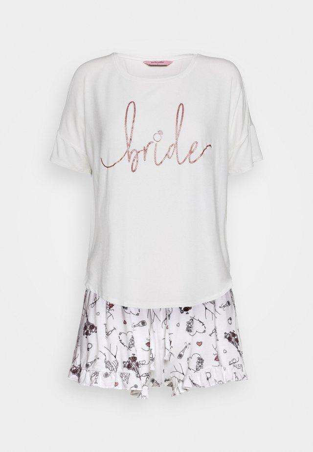 SHORT BRIDE SET - Pyjamas - snow white