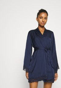 Hunkemöller - KIMONO MEILI - Dressing gown - blue - 0