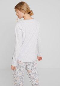 Hunkemöller - SLOTH - Nattøj trøjer - soft grey melange - 2