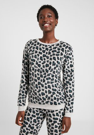 LEOPARD - Pyjamasoverdel - light grey