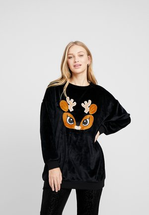 DEER - Pyjama top - black