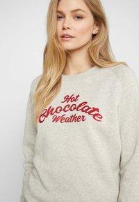 Hunkemöller - HOT CHOCOLATE - Nattøj trøjer - oatmeal - 3