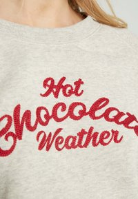 Hunkemöller - HOT CHOCOLATE - Nattøj trøjer - oatmeal - 5