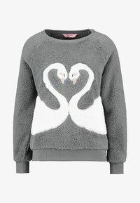 Hunkemöller - SWAN - Pyjama top - silver grey - 3