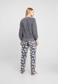 Hunkemöller - SWAN - Pyjama top - silver grey - 2