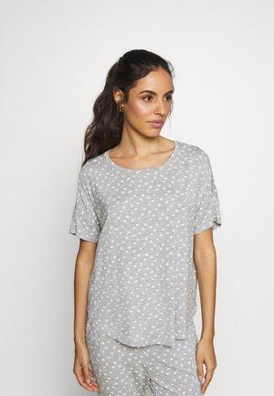 LOOSEFIT EYES - Pyjamasoverdel - warm grey melee