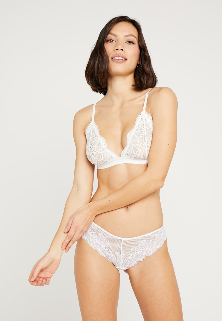 Hunkemöller - INVISIBLE 3 PACK - String - bright white