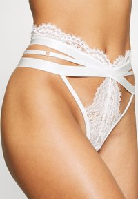 Hunkemöller - CHASTITY - String - snow white - 4