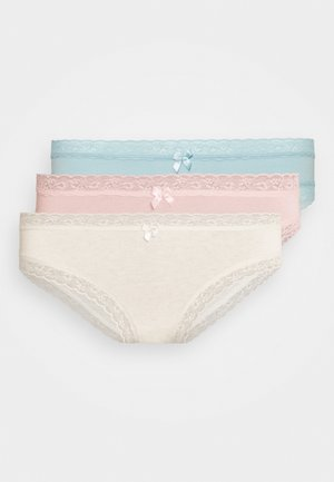3 PACK - Underbukse - chalk/pink