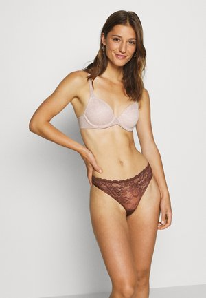 ANGIE 2 PACK - String - mink