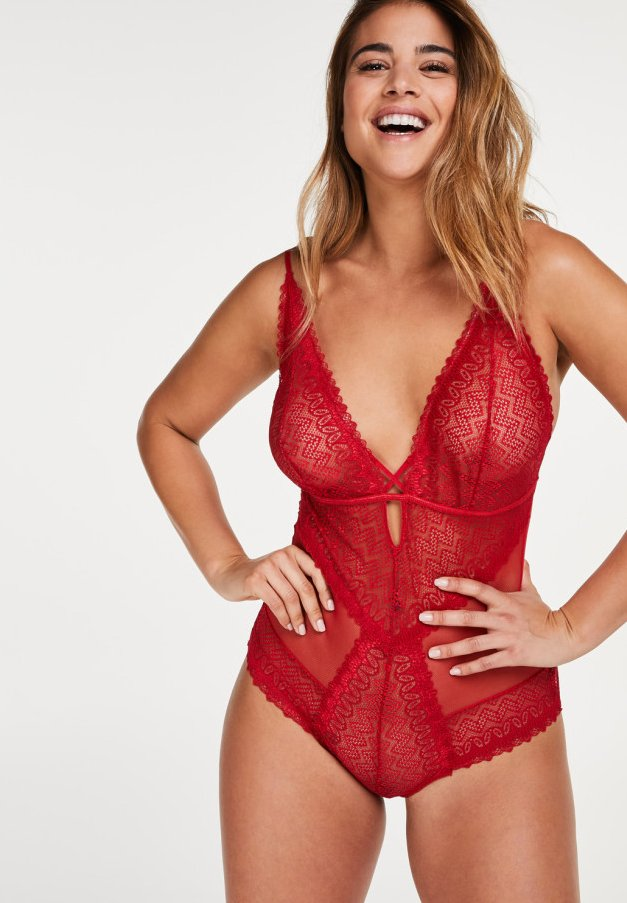 Hunkemöller - Body - red