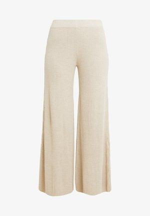 TIME - Kalhoty - beige