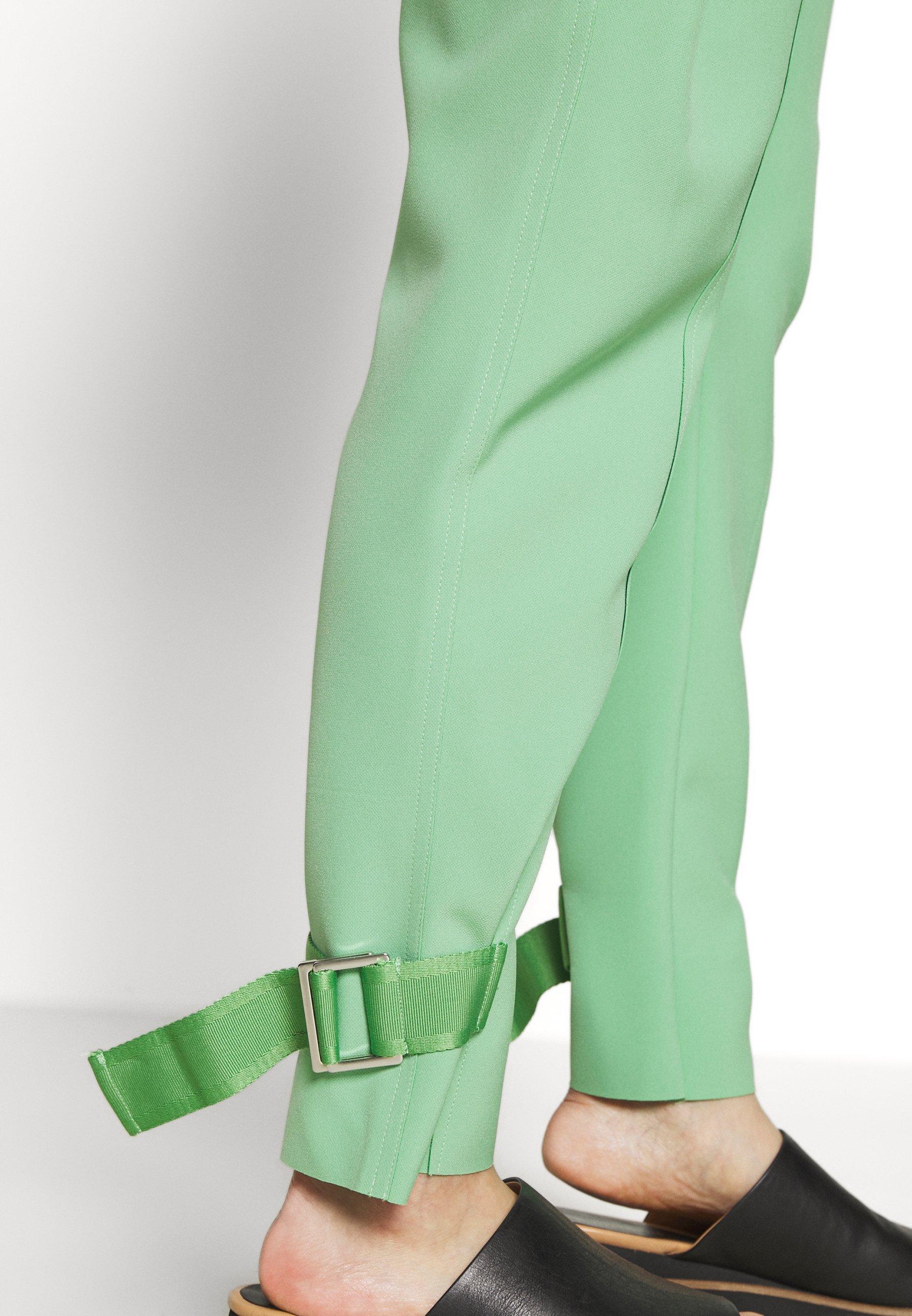 Holzweiler Skunk Trouser - Tygbyxor Light Green