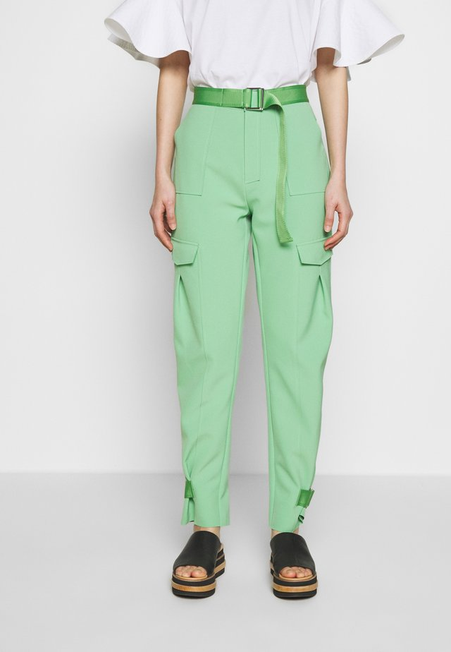 SKUNK TROUSER - Kangashousut - light green