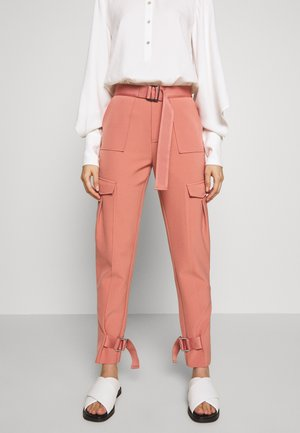 SKUNK - Cargo trousers - dust pink