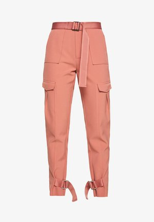 SKUNK - Cargo trousers - dust pink