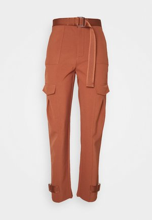 SKUNK TROUSER  - Pantalon cargo - terracotta