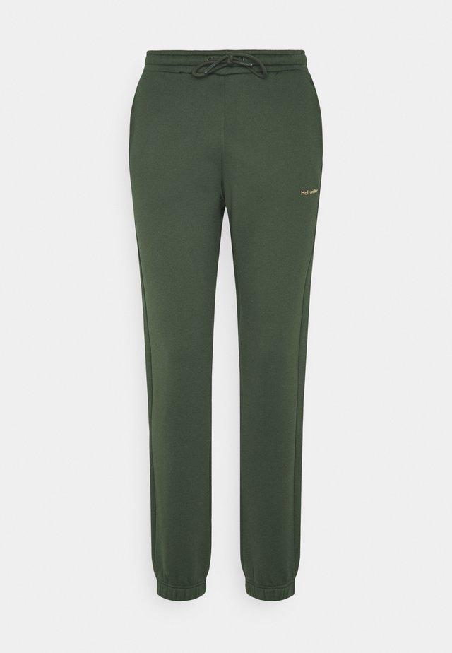 GABBY TROUSER - Tracksuit bottoms - dark green