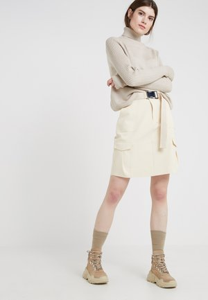 STRANDA SKIRT - Áčková sukně - sand