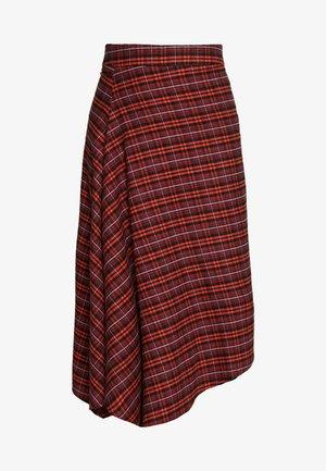 MIKINE - Áčková sukně - red orange