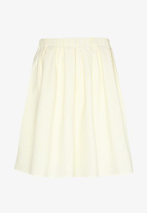 TAESJA STRIPE SKIRT - A-line skjørt - yellow